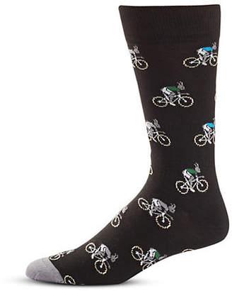 Paul Smith Printed Mid-Calf Socks
