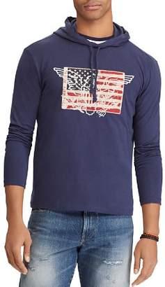 Polo Ralph Lauren Flag Jersey Hooded Tee