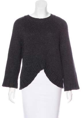 Theyskens' Theory Merino Wool & Alpaca-Blend Sweater