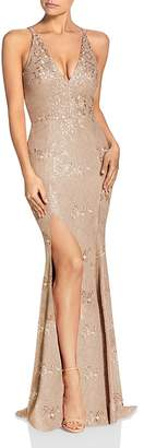 Dress the Population Iris Lace Gown