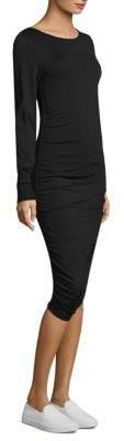Escada Sport Bishop-Sleeves Bodycon Dress