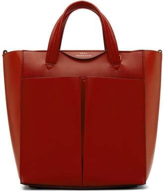 Anya Hindmarch Red Mini Nevis Crossbody Tote