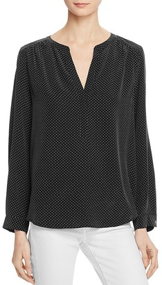 Joie Carita Printed Silk Top $278 thestylecure.com