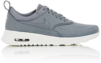 Nike Women's Air Max Thea Premium Sneakers-GREY $115 thestylecure.com