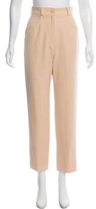 Hermes High-Rise Straight-Leg Pants