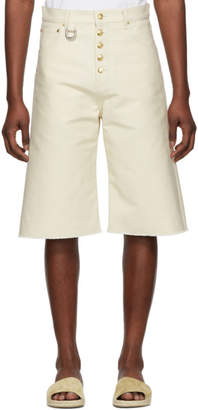 Off-White Linder Denim Dakota Shorts