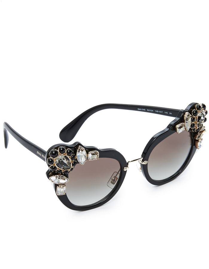 Miu Miu Hexagonal Sunglasses  miu miu sunglasses for women style australia