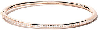De Beers 18kt rose gold Micropavé diamond bangle