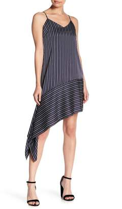 J.o.a. Asymmetrical Stripe Dress