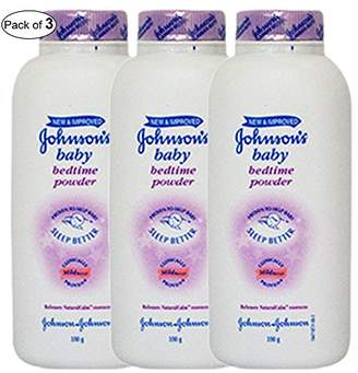 Johnson's Baby Johnson's Baby Bed Time Powder (100g) (Pack of 3)