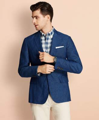 Brooks Brothers Two-Button Linen Sport Coat