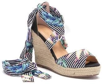 Vintage Havana Amanda Platform Espadrille Wedge Sandal