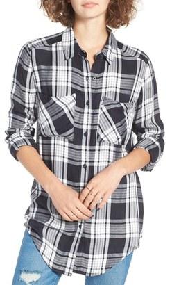 BP. Plaid Tunic Shirt $45 thestylecure.com