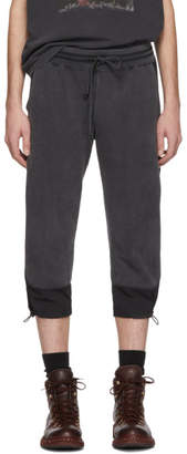 Remi Relief Black Cropped Lounge Pants