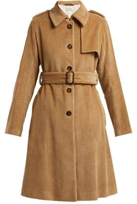 Masscob Jakob Cotton Corduroy Trench Coat - Womens - Camel