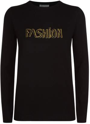 Bella Freud Lurex Fashion Sweater