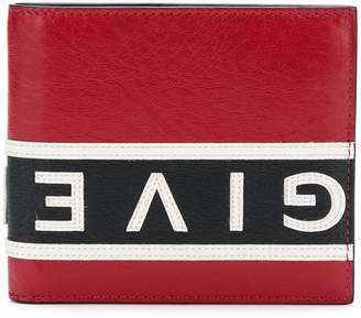 Givenchy colour-block logo bi-fold wallet