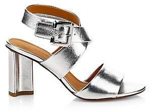 Clergerie Women's Alixe Leather Criss Cross City Sandals