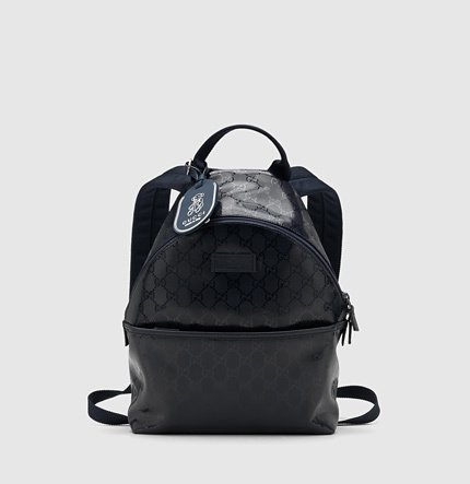 Gucci kid's GG imprimé backpack