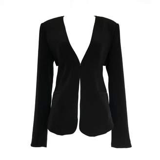 LEFON New York - Black Blazer With Pleated Back