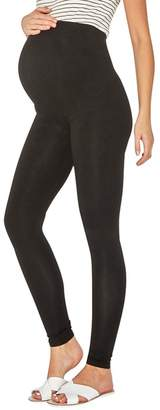 Dorothy Perkins - Maternity Black Cotton Over The Bump Leggings