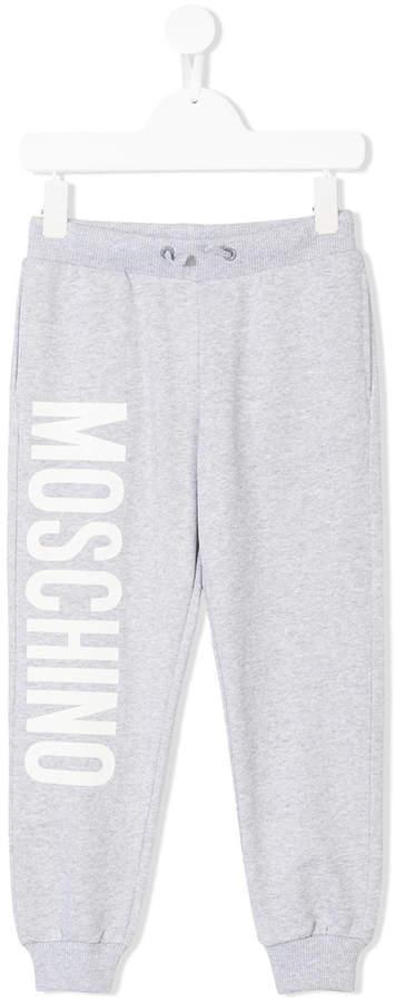 Moschino Kids Jogginghose mit Logo-Print