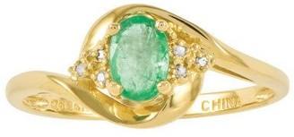 Polished Birthstone Ring, 14K Yellow Gold