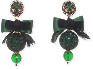 Ranjana Khan Bow Statement Clip-On Earrings