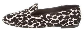Tod's Ponyhair Animal Print Loafers Black Ponyhair Animal Print Loafers