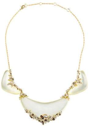 Alexis Bittar Lucite & Crystal Lace Collar Necklace