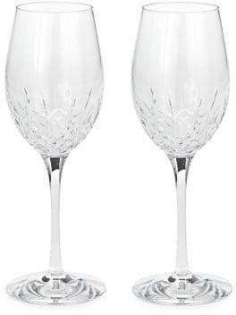 Waterford Wedgwood Two-Piece Crystal Wine Glass Set