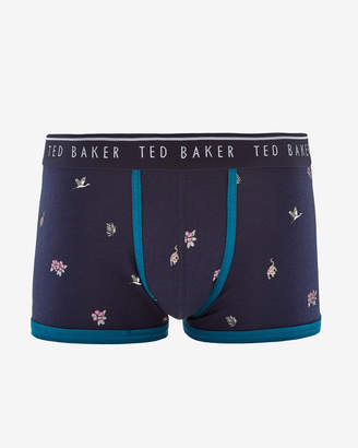 Ted Baker PURBECK Printed cotton boxer shorts