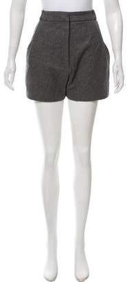 Acne Studios Wool Mini Shorts