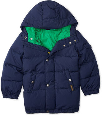 Ralph Lauren Quilted Down Jacket $165 thestylecure.com