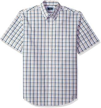 Arrow Men's Hamilton Plaid Short Sleeve Shirt
