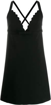 Miu Miu short crisscross dress