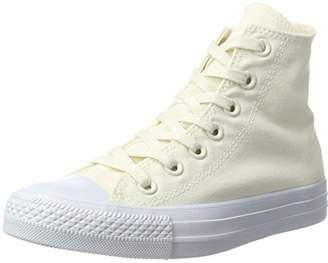 Converse Unisex Adults' Chuck Taylor All Star Hi-Top Slippers Off-White Size: