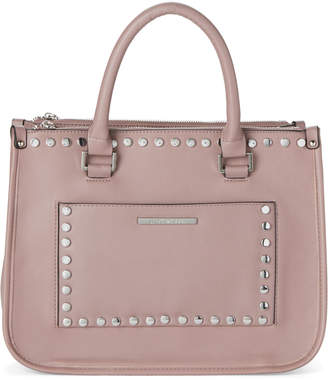 Steve Madden Dusty Rose Reggie Studded Satchel