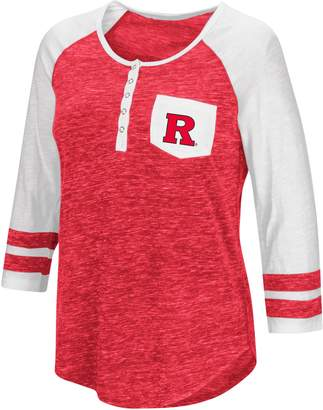NCAA Women's Campus Heritage Rutgers Scarlet Knights Conceivable Tee