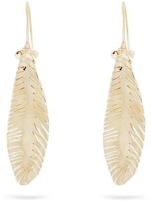 Valentino Leaf drop earrings