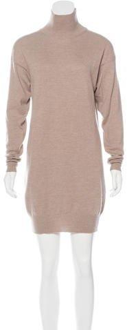 Stella McCartney Wool & Angora-Blend Sweater Dress