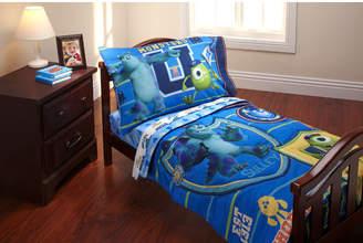 Disney Monsters University 4 Piece Toddler Bedding Set