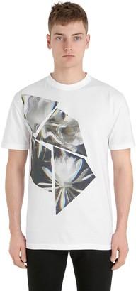 Esprit (エスプリ) - Esprit D'equipe Milan Limit.ed Lotus Printed Cotton T-Shirt