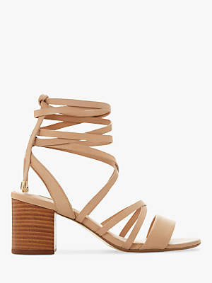 Dune Ivanni Strappy Lace Up Sandals