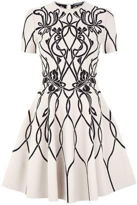 Alexander McQueen Volume Mini Dress