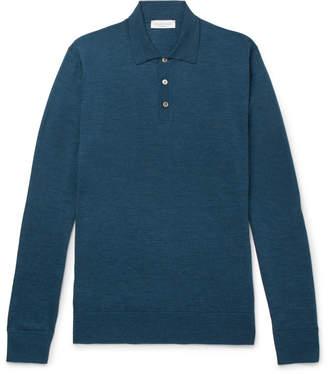 Richard James Slim-Fit Merino Wool Polo Shirt
