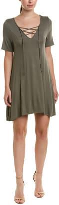 BCBGeneration Lace-Up T-Shirt Dress