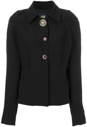Class Roberto Cavalli classic collar buttoned jacket