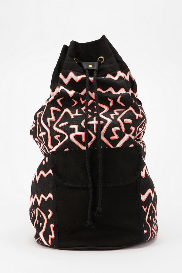 Urban Outfitters Deena & Ozzy Geo Bucket Backpack