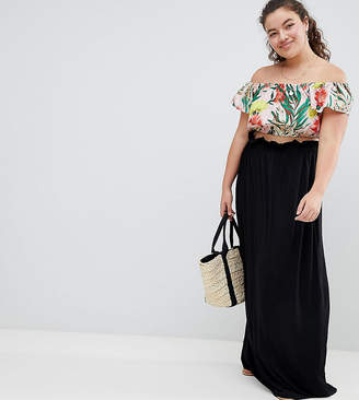 24835b5bf3c Long Black Skirt Plus Size - ShopStyle Australia